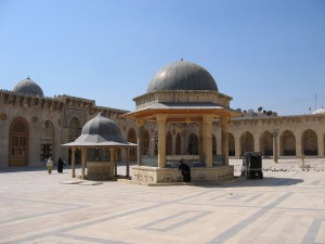 Omayad Mosque of Aleppo, Syria.